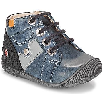 Topánky Chlapci Polokozačky GBB REGIS Námornícka modrá