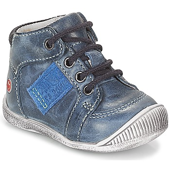 Topánky Chlapci Polokozačky GBB RACINE Námornícka modrá