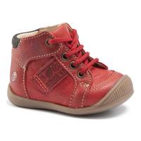 Topánky Chlapci Členkové tenisky GBB RACINE Červená tehlová