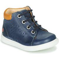 Topánky Chlapci Členkové tenisky GBB NERISSON Námornícka modrá