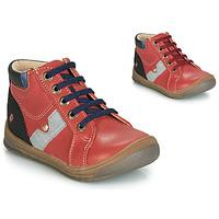 Topánky Chlapci Členkové tenisky GBB RENOLD Červená tehlová