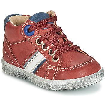 Topánky Chlapci Nízke tenisky GBB ANGELITO Červená tehlová