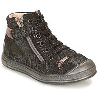 Topánky Dievčatá Členkové tenisky GBB DESTINY Čierna / Trblietkavá