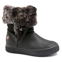 Topánky Dievčatá Čižmy do mesta GBB NOUSTIK Čierna