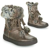 Topánky Dievčatá Čižmy do mesta GBB NOUSTIK Bronzová
