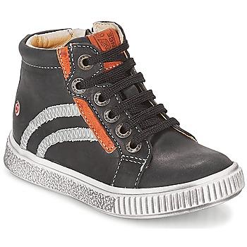 Topánky Chlapci Členkové tenisky GBB NESTOR Čierna