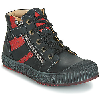 Topánky Chlapci Členkové tenisky GBB RAMBOUTAN Čierno-tehlová
