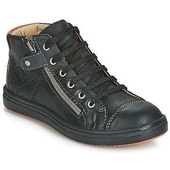 Topánky Chlapci Členkové tenisky GBB NICO Čierna