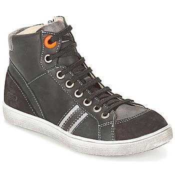 Topánky Chlapci Členkové tenisky GBB ANGELO Čierna