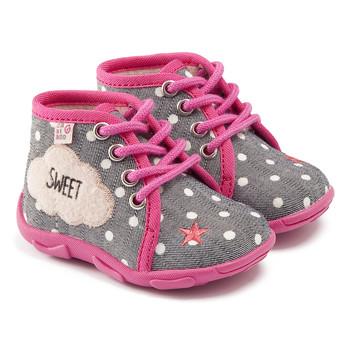 Topánky Dievčatá Papuče GBB BUBBLE Šedo-ružová