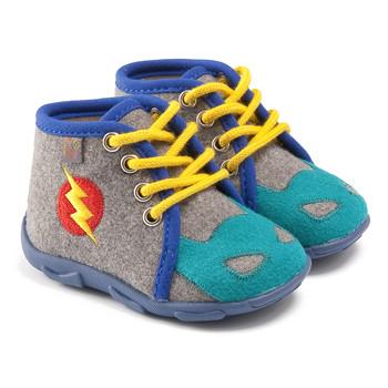 Topánky Chlapci Papuče GBB SUPER BOYS Šedo-modrá