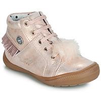 Topánky Dievčatá Členkové tenisky Catimini ROSALIE Ružová / Svetlá púdrová