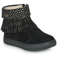 Topánky Dievčatá Polokozačky Catimini PERETTE Čierna