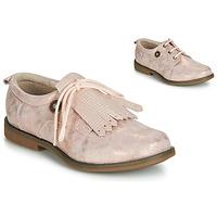 Topánky Dievčatá Derbie Catimini ROMY Ružová / Svetlá púdrová