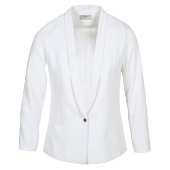 Oblečenie Ženy Saká a blejzre Betty London IKAROLE Biela