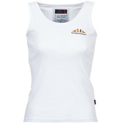 Oblečenie Ženy Tielka a tričká bez rukávov Les voiles de St Tropez BLENNIE Biela
