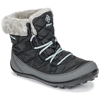 Topánky Deti Obuv do snehu Columbia YOUTH MINX SHORTY OMNI-HEAT™ WATERPROOF Čierna