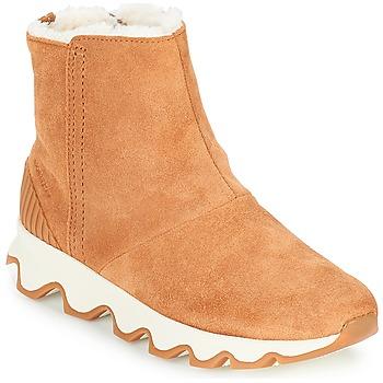 Topánky Ženy Snehule  Sorel KINETIC SHORT Ťavia hnedá