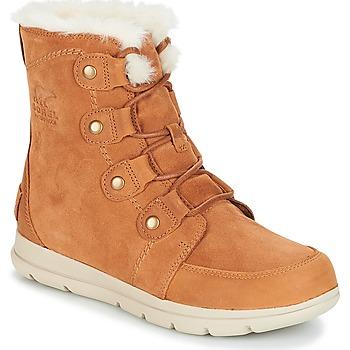 Topánky Ženy Obuv do snehu Sorel SOREL™ EXPLORER JOAN Ťavia hnedá