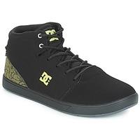 Topánky Deti Členkové tenisky DC Shoes CRISIS HIGH SE B SHOE BK9 Čierna / Zelená