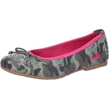 Topánky Dievčatá Balerínky a babies Lulu AG640 Zelená