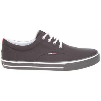 Topánky Muži Nízke tenisky Tommy Hilfiger Pánská EM0EM00001 Black EM0EM00001 990 Čierna