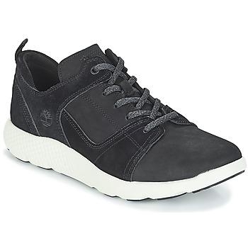 Topánky Muži Členkové tenisky Timberland FlyRoam Leather Oxford Čierna