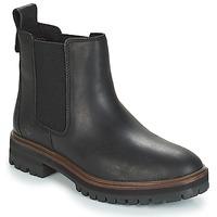 Topánky Ženy Polokozačky Timberland London Square Chelsea Čierna