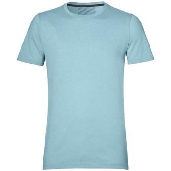 Oblečenie Muži Tričká s krátkym rukávom Asics SS Top Belasá