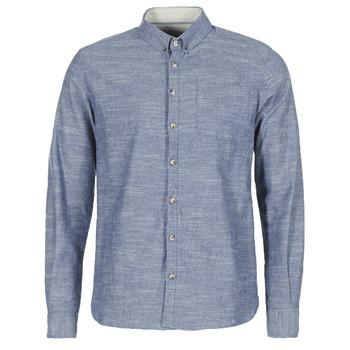 Oblečenie Muži Košele s dlhým rukávom Casual Attitude IPODRUM Modrá