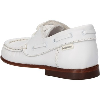 Topánky Chlapci Módne tenisky Balducci sneakers bianco pelle AG923 Bianco