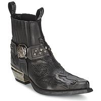 Topánky Ženy Polokozačky New Rock PRETO čierna