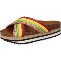 Topánky Ženy športové šľapky 5 Pro Ject sandali verde tessuto giallo AC589 Multicolore