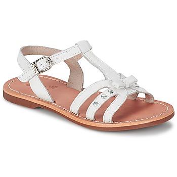 Topánky Dievčatá Sandále Aster VALENTINA Biela