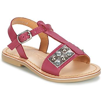 Topánky Dievčatá Sandále Mod'8 ZAZIE Ružová