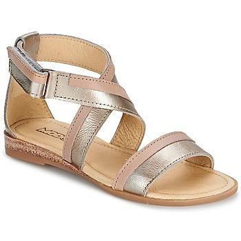 Topánky Dievčatá Sandále Mod'8 JOYCE Zlatá