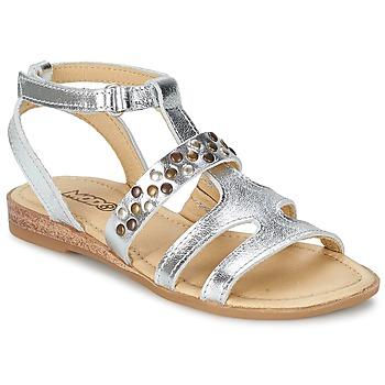 Topánky Dievčatá Sandále Mod'8 JADE Strieborná
