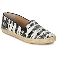 Topánky Ženy Slip-on SuperTrash ALISA Hadí vzor / Čierna / Béžová