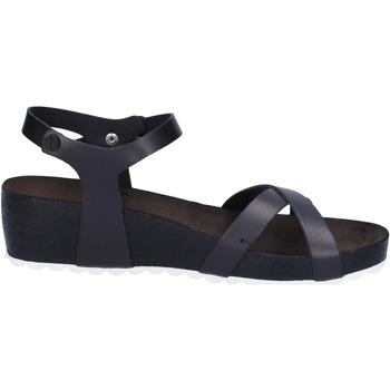 Topánky Ženy Sandále 5 Pro Ject sandali nero pelle bianco AC700 Nero
