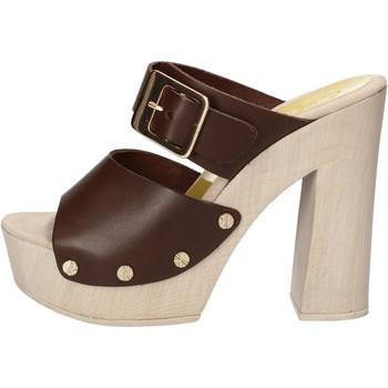 Topánky Ženy Sandále Suky Brand sandali marrone pelle AC765 Marrone