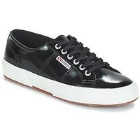 Topánky Ženy Nízke tenisky Superga 2750-LEAPATENTW Čierna