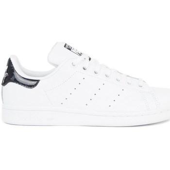 Topánky Deti Nízke tenisky adidas Originals Stan Smith Biela