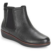Topánky Ženy Polokozačky FitFlop CHAI Čierna