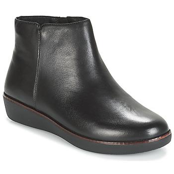 Topánky Ženy Polokozačky FitFlop ZIGGY ZIP Čierna