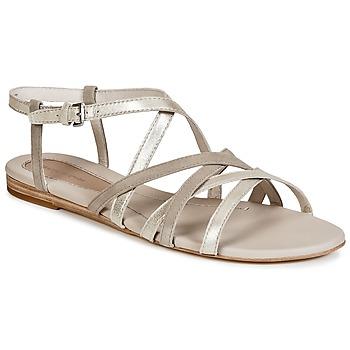 Topánky Ženy Sandále Marc O'Polo PRAVA Béžová / Strieborná