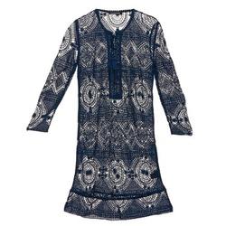 Oblečenie Ženy Krátke šaty Antik Batik LEANE Námornícka modrá