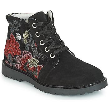 Topánky Dievčatá Polokozačky Catimini CAHAUT Čierna
