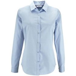 Oblečenie Ženy Košele a blúzky Sols BRODY WORKER WOMEN Azul