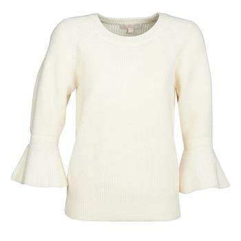 Oblečenie Ženy Svetre MICHAEL Michael Kors SHAKER ROUND SLV Biela