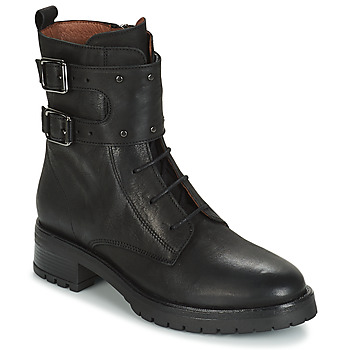 Topánky Ženy Polokozačky Ikks REGNAUT Čierna